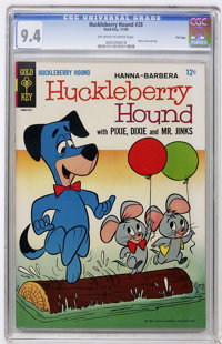 Huckleberry Hound #28 File Copy (Gold Key, 1966) CGC NM 9.4 Off-white to white pages
