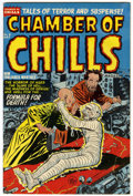 Golden Age (1938-1955):Horror, Chamber of Chills #8 (Harvey, 1952) Condition: FN....