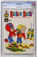 Bronze Age (1970-1979):Humor, Richie Rich #100 File Copy (Harvey, 1970) CGC NM/MT 9.8 Of-white towhite pages....