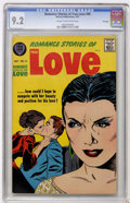 Silver Age (1956-1969):Romance, Romance Stories of True Love #45 File Copy (Harvey, 1957) CGC NM-9.2 Cream to off-white pages....