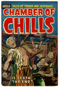 Golden Age (1938-1955):Horror, Chamber of Chills #22 (Harvey, 1954) Condition: FN....