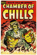 Golden Age (1938-1955):Horror, Chamber of Chills #25 File Copy (Harvey, 1954) Condition: VF....