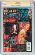 Modern Age (1980-Present):Science Fiction, X-Files #13 Signature Series (Topps Comics, 1996) CGC NM 9.4 Whitepages....