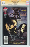 Modern Age (1980-Present):Miscellaneous, The X-Files: Season One #nn Signature Series (Topps Comics, 1998) CGC NM+ 9.6 White pages....
