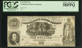 Confederate Notes:1861 Issues, T30 $10 1861 PF-3 Cr. 239.. ...