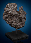 Meteorites:Irons, Morasko Meteorite - Complete Silicated Iron Meteorite from Eastern Europe. Silicated Iron - IAB. Poznan, Poland. F... (Total: 2 Items)