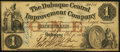Obsoletes By State:Iowa, Dubuque, IA- Dubuque Central Improvement Company $1 Feb. 15, 1858. ...