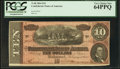 Confederate Notes:1864 Issues, T68 $10 1864 PF-27 Cr. 548.. ...