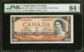 Canadian Currency: , BC-30b $2 Devil's Face 1954.. ...