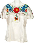 Music Memorabilia:Costumes, Linda Ronstadt -- A Collection of Stage-Worn Peasant Blouses (Circa1980s).... (Total: 5 )
