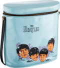 Music Memorabilia:Memorabilia, Beatles Vinyl Lunch Box (NEMS Enterprises Ltd. Inc., 1965)....