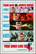 """Movie Posters:James Bond, You Only Live Twice (United Artists, 1967). One Sheet (27"""" X 41"""") Style A Teaser. James Bond.. ..."""