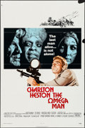 "Movie Posters:Science Fiction, The Omega Man (Warner Brothers, 1971). One Sheet (27"" X 41"").Science Fiction.. ..."