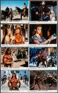 """Movie Posters:Action, Conan the Destroyer (Universal, 1984). Mini Lobby Card Set of 8 (8""""X 10""""). Action.. ... (Total: 8 Items)"""