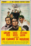 "Movie Posters:War, The Guns of Navarone (Columbia, 1961). Argentinean Poster (29"" X43""). War.. ..."