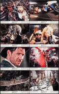 """Movie Posters:Adventure, Indiana Jones and the Temple of Doom (Paramount, 1984). Mini LobbyCard Set of 8 (8"""" X 10""""). Adventure.. ... (Total: 8 Items)"""