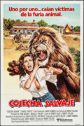 "Movie Posters:Adventure, Savage Harvest (20th Century Fox, 1981). Spanish One Sheet (27"" X41""). Adventure.. ..."