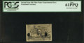 Fractional Currency:Second Issue, Milton 2E10F.2a 10¢ Second Issue Experimental PCGS New 61PPQ.. ...