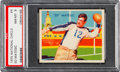Football Cards:Singles (Pre-1950), 1935 National Chicle Ed Matesic #4 PSA NM-MT 8 - None Higher. ...