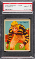 Football Cards:Singles (Pre-1950), 1935 National Chicle Ben Smith #16 PSA NM-MT 8....