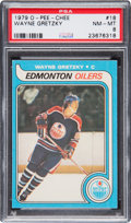 Hockey Cards:Singles (1970-Now), 1979 O-Pee-Chee Wayne Gretzky #18 PSA NM-MT 8....