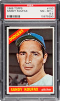 Baseball Cards:Singles (1960-1969), 1966 Topps Sandy Koufax #100 PSA NM-MT+ 8.5....