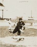 Baseball Collectibles:Photos, 1910's Eddie Cicotte Wagner Original News Photograph by Bain,PSA/DNA Type 1.. ...