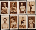 """Boxing Cards:General, 1922 Boys Magazine """"Boxers"""" Complete Set (8). ..."""