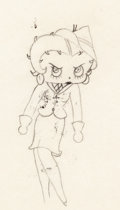 Animation Art:Production Drawing, Judge for a Day Betty Boop Animation Drawing (Max Fleischer,1935).. ...