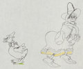 Animation Art:Production Drawing, Mother Goose Melodies Animation Drawing (Walt Disney,1931)....