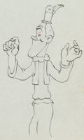 Animation Art:Production Drawing, Mother Goose Goes Hollywood Stan Laurel Animation Drawing(Walt Disney, 1938)....