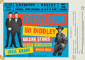 Music Memorabilia:Posters, Rolling Stones/Everly Brothers/Bo Diddley Early Gaumont ConcertHandbill (UK, 1963)....