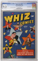 Whiz Comics #81 - CROWLEY PEDIGREE (Fawcett Publications, 1946) CGC NM- 9.2 Cream to off-white pages