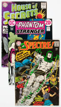 Silver Age (1956-1969):Horror, DC Silver and Bronze Age Horror/Suspense Long Box Group (DC,1960s-70s) Condition: Average GD/VG....