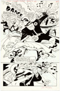 Original Comic Art:Splash Pages, Steve Rude and Gary Martin Nexus: Nightmare in Blue #3Splash Page 1 Original Art (Dark Horse, 1997)....