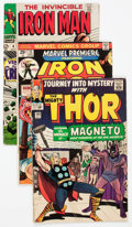 Bronze Age (1970-1979):Superhero, Marvel Silver to Modern Age Superhero Long Boxes Group (Marvel,1960s-80s) Condition: Average GD.... (Total: 2 Box Lots)