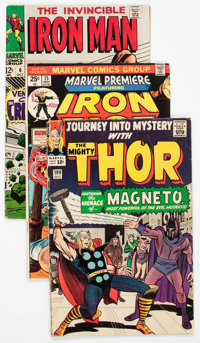 Marvel Silver to Modern Age Superhero Long Boxes Group (Marvel, 1960s-80s) Condition: Average GD.... (Total: 2 Box Lots)