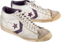 Basketball Collectibles:Others, 1980's Walter Davis Game Worn Phoenix Suns Shoes....