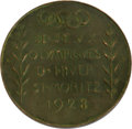 Miscellaneous Collectibles:General, 1928 St. Moritz Winter Olympics Bronze Third-Place Medal. ...