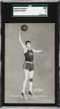 "Basketball Cards:Singles (Pre-1970), 1948 Exhibits ""Sports Champions"" George Mikan SGC 60 EX 5. ..."
