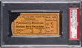 Football Collectibles:Tickets, 1933 Green Bay Packers vs. Portsmouth Spartans Ticket Stub...