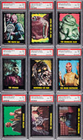 Non-Sport Cards:Sets, 1964 Bubbles, Inc. (Topps) Outer Limits PSA Graded Partial Set(24/50) - With Short Prints. ...