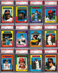 Baseball Cards:Sets, 1975 O-Pee-Chee Baseball High Grade Near Set (640/660). ...