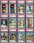 Baseball Cards:Sets, 1973 O-Pee-Chee Baseball Mid to High Grade Complete Set (660) PlusChecklists (22). ...