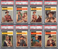"Non-Sport Cards:Sets, 1958 Topps ""TV Western"" High End Near Set (69/71). ..."