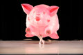Post-War & Contemporary:Contemporary, Jeff Koons (b. 1954). Inflatable Pig Costume, 1988-89. Polyvinyl figure with battery driven inflation motor. 84 inches (...