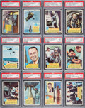 "Non-Sport Cards:Sets, 1963 Topps ""Astronauts"" High Graded Partial Set (26/55) - Each aScarce ""Popsicle Space Cards"" Back Variation. ..."