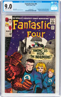Silver Age (1956-1969):Superhero, Fantastic Four #45 (Marvel, 1965) CGC VF/NM 9.0 Off-white to white pages....