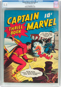 Golden Age (1938-1955):Superhero, Captain Marvel Thrill Book #1 (Fawcett Publications, 1941) CGC FN- 5.5 Off-white to white pages....