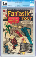 Silver Age (1956-1969):Superhero, Fantastic Four #20 (Marvel, 1963) CGC NM+ 9.6 Off-white to white pages....